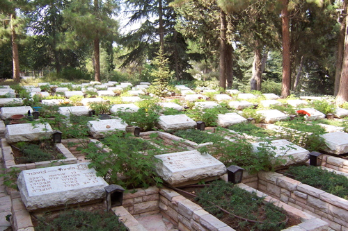 Military graves at Har Herzl
